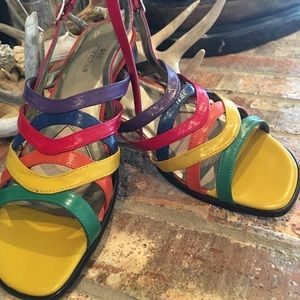 Ros Hommerson multi colored sandal